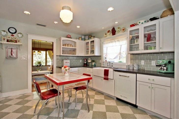 decoracion de cocinas estilo vintage