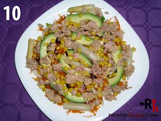 Recetas de cocina: Ensalada mediterránea - Paso 10