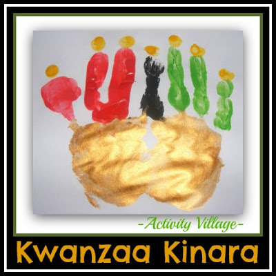 photo of: Kwanzaa Kinara via Activity Village at PreK+K Sharing