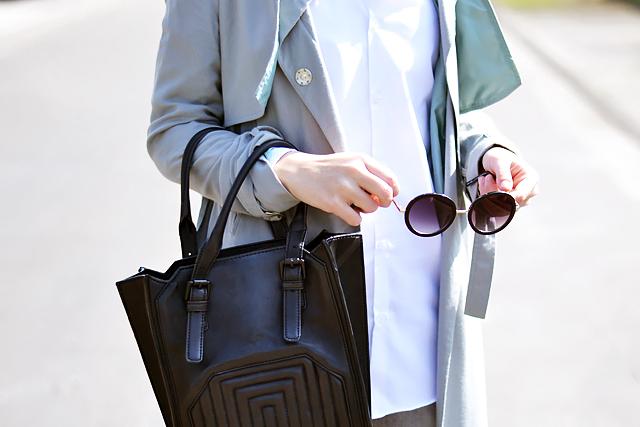 Round sunglasses, primark, celine inspired tote bag, zara, primark shirt