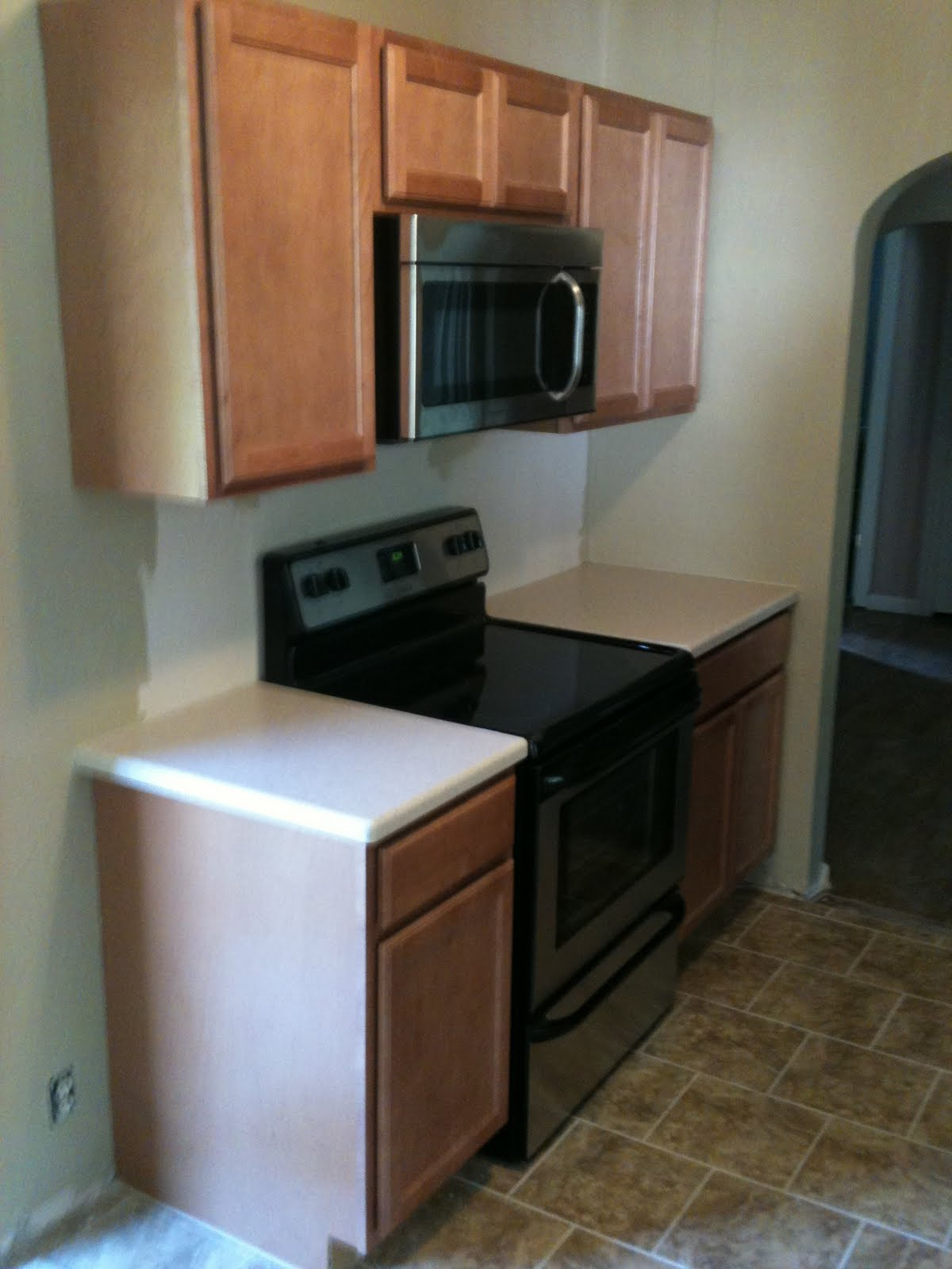, appliances and cabinets installed. All I need is the backsplash