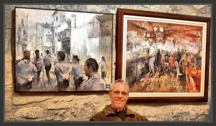 EXPOSICIONES-PINTURA-GALERIAS-SALAS-ARTE-ART-SANT CUGAT DEL VALLES-CATALUNYA-CRITICOS-FRANCESC GALÍ-FOTOS-PINTOR-ERNEST DESCALS-