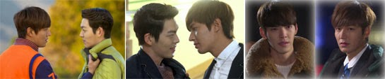 Kim Tan played by Lee Min Ho, and Choi Young Do played by Kim Woo Bin face off in various encounters.