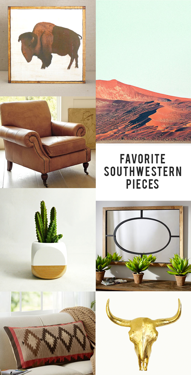 Modern Southwestern Decor (via Bubby and Bean)