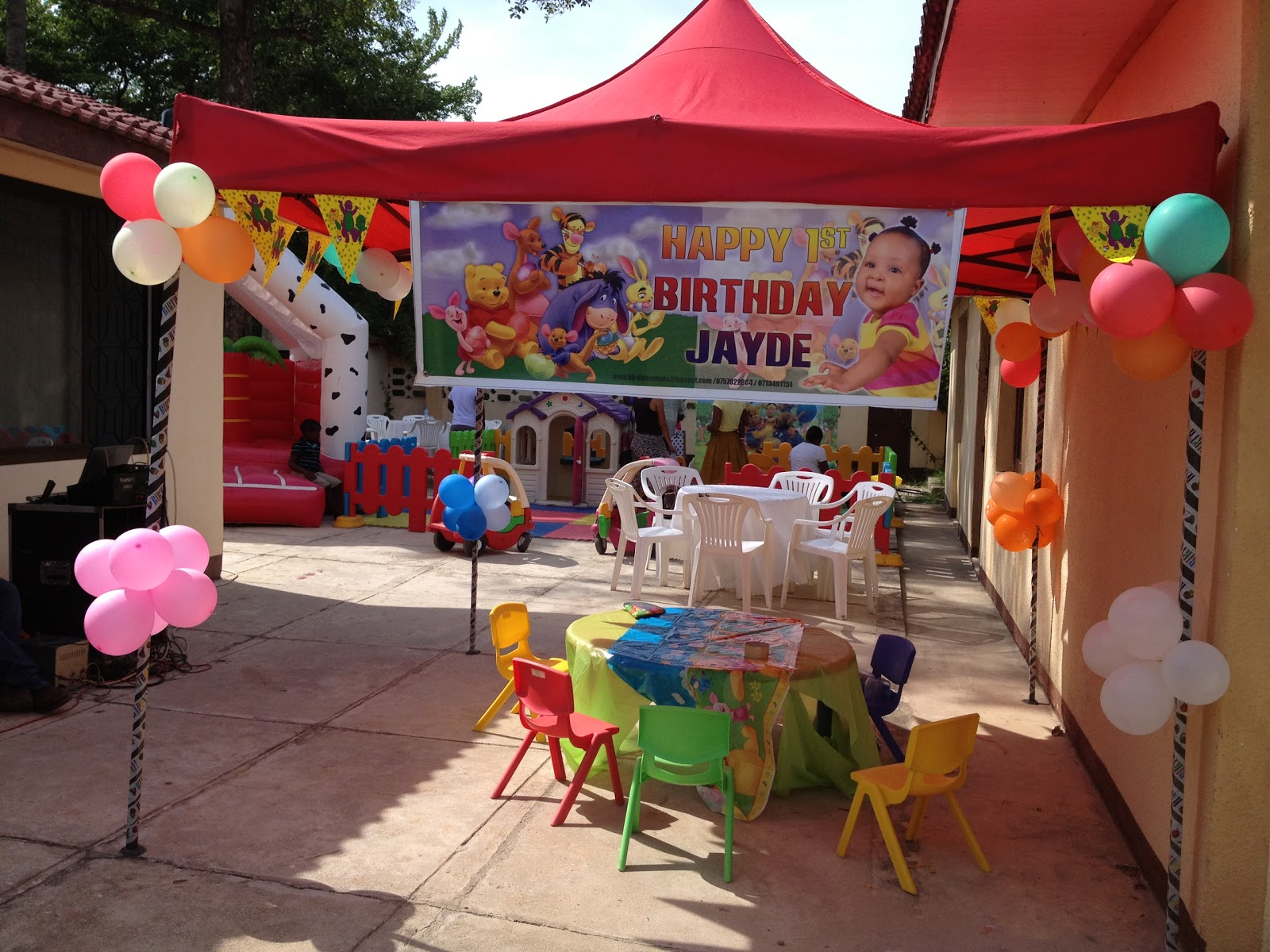 KIDS EVENTS KIDS PARTIES Winnie the Pooh For a 1st Birthday
