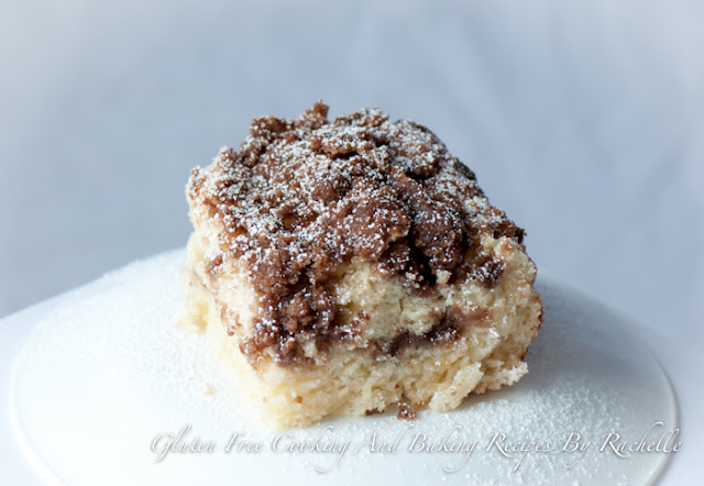 Gluten Free/Dairy Free Streusel Coffee Cake