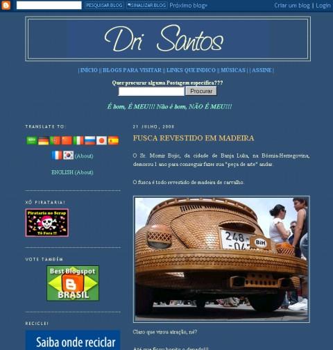 Visite Dri Santos