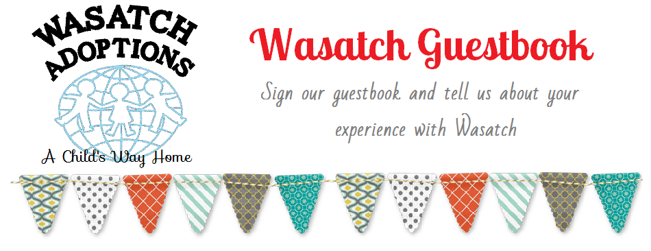 Wasatch Guestbook