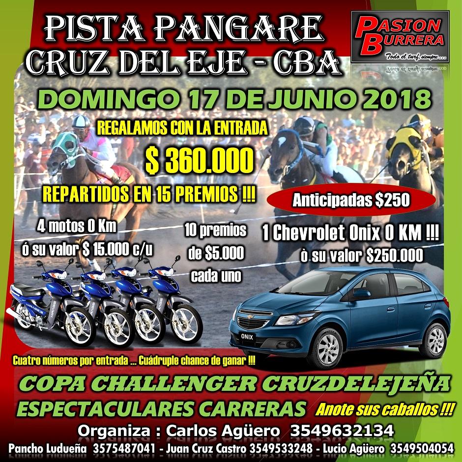 PANGARE - 17 JUNIO - CHALLENGER