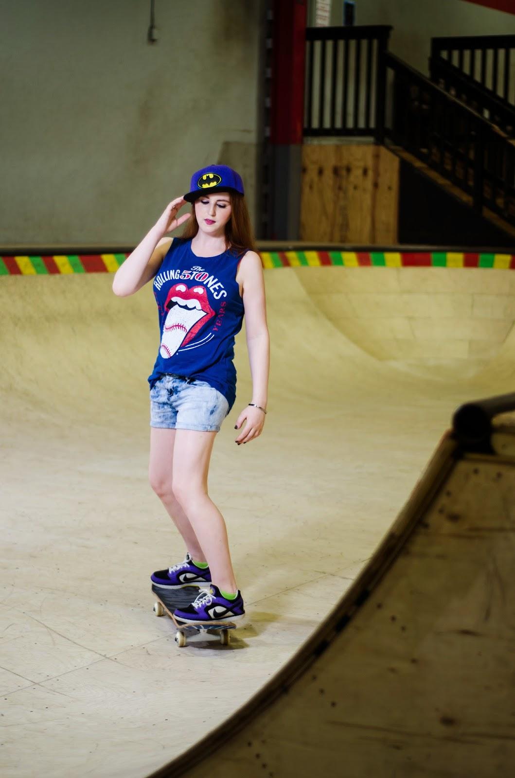 twin vogue grunge fashion series quotskater girlquot