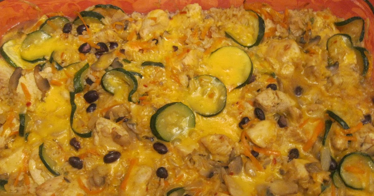 ... family well: Southwest Chicken, Brown Rice and Black Bean Casserole