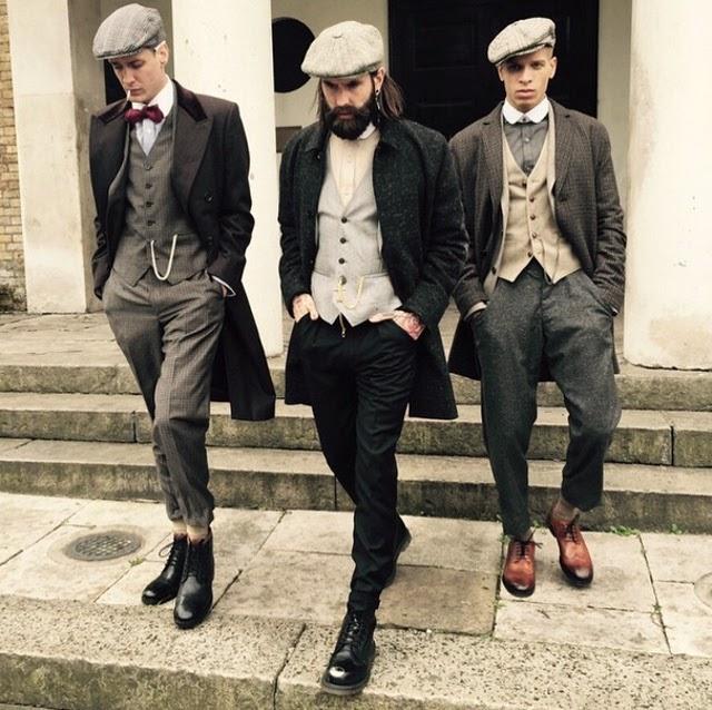 Rayas y cuadros blog de moda masculina una semana de - Hipster anzug ...