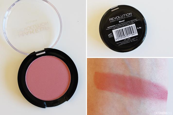 MAKEUP REVOLUTION // Powder + Cream Blushes | Review + Swatches - CassandraMyee