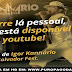 [DVD] IGOR KANNÁRIO -AOVIVO NO SALVADOR FEST 2014
