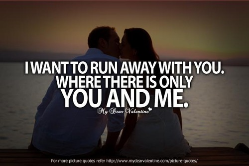 I Want To Run Away With You | Letter a Studio