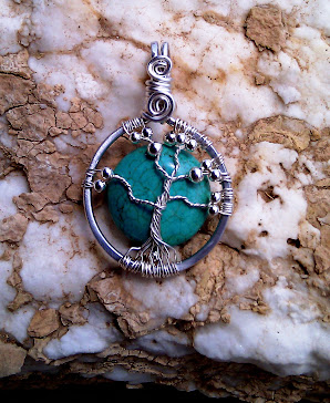 Tree of life with howlite