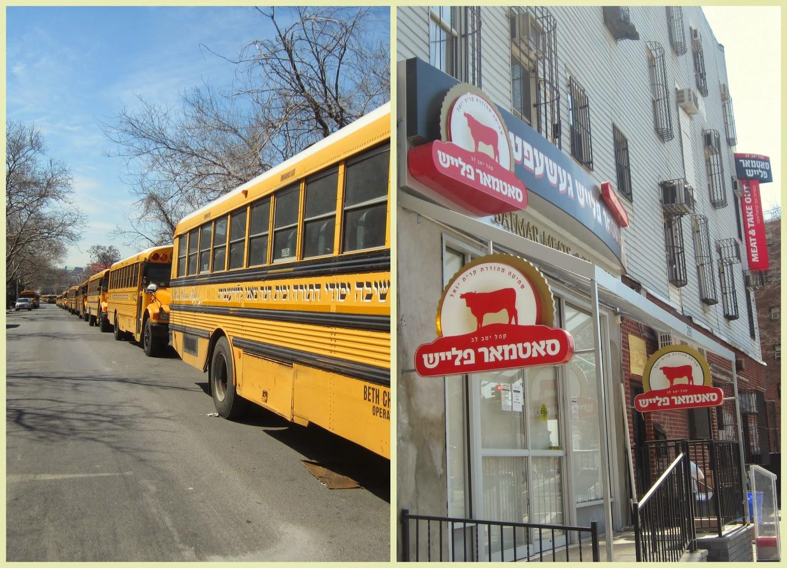 """""""autobuses escolares barrio judío Nueva York"""""""