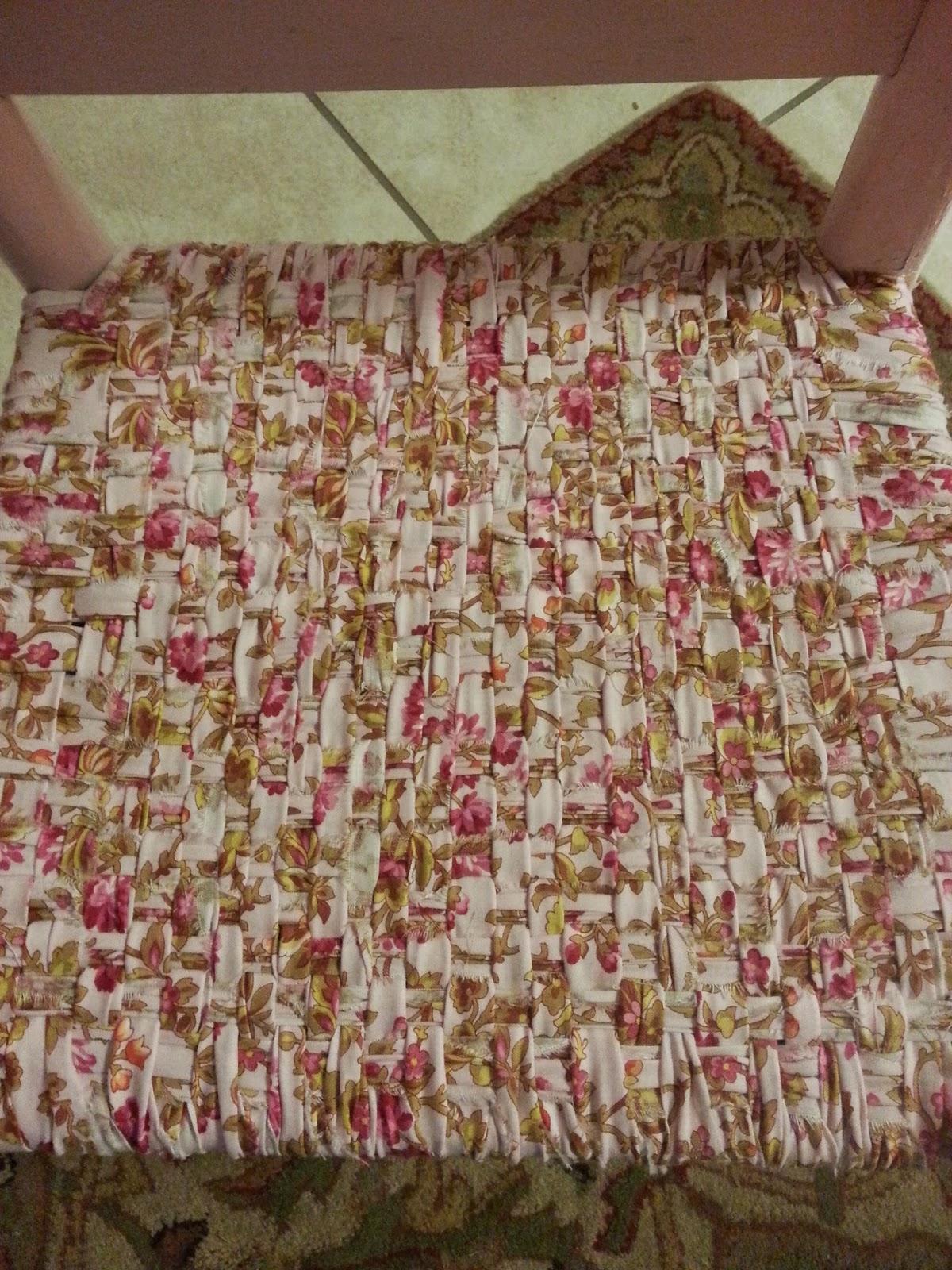 One Fabric...random Weaving.