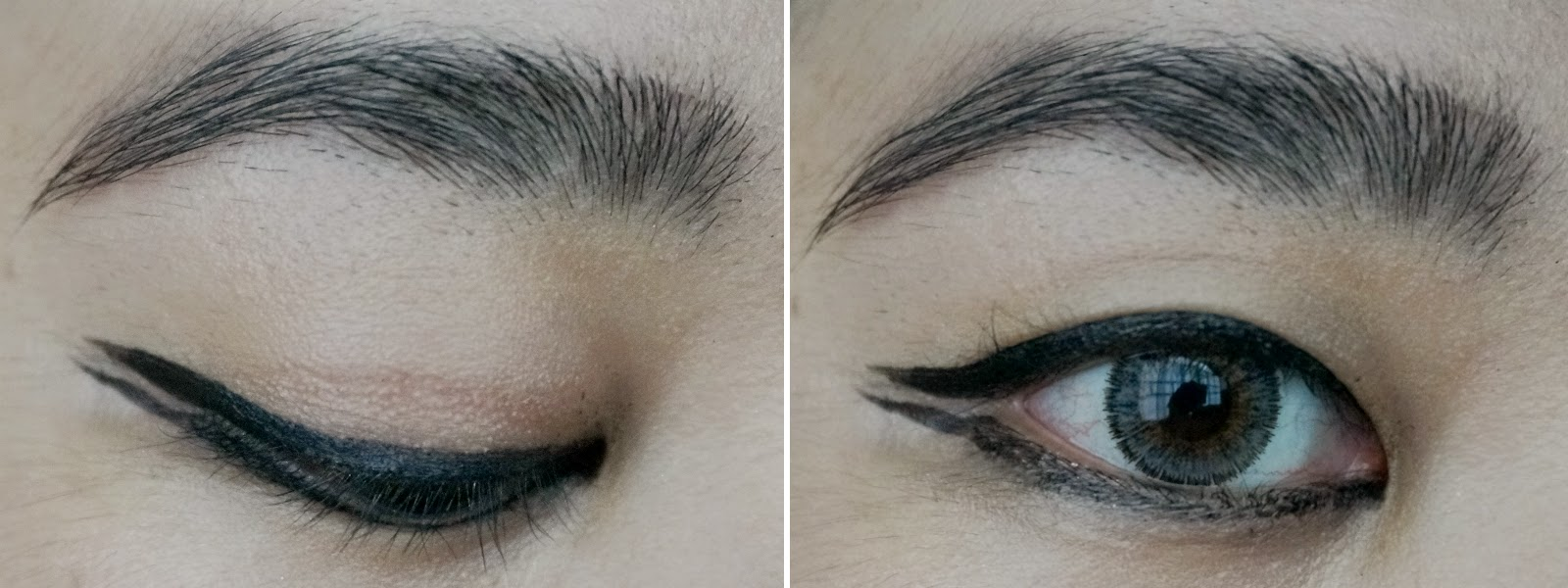 Graphic Double Winged Eyes