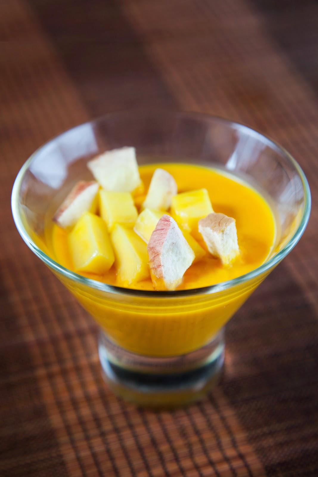 UJONG Mango Pudding