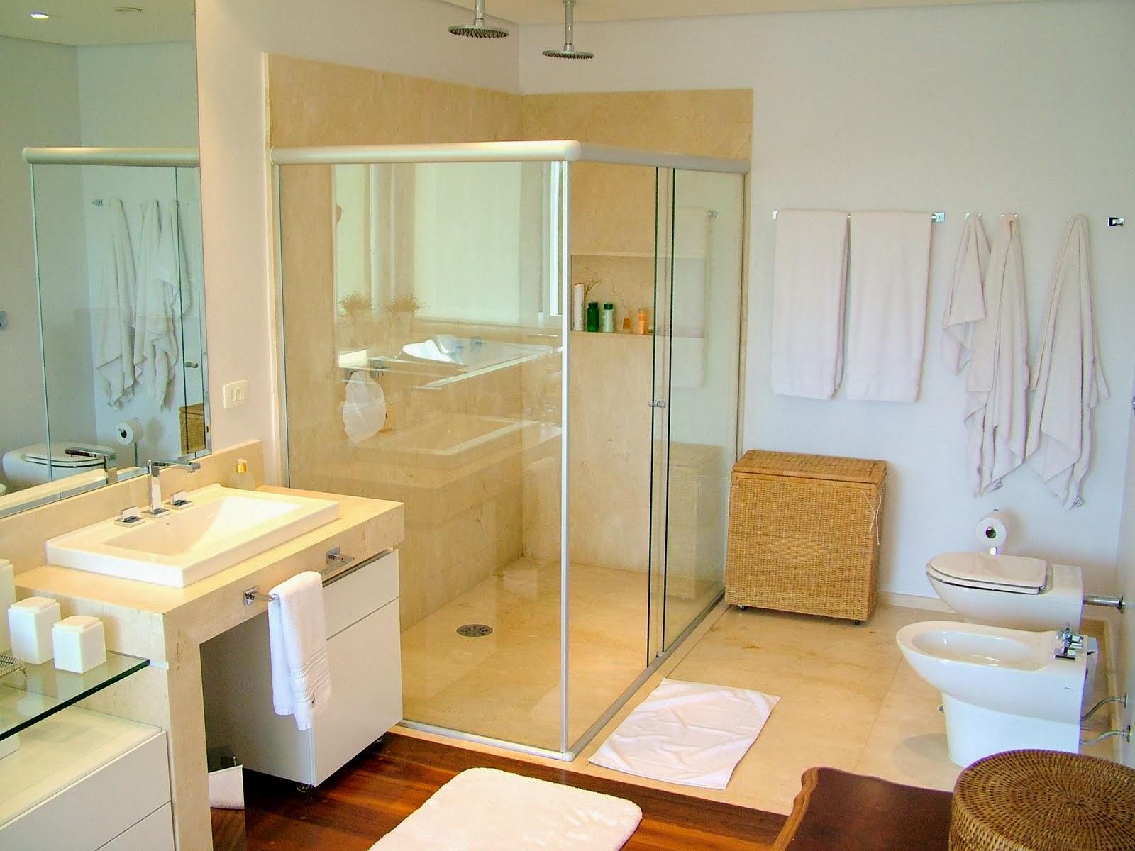 Fonte: Site Decoração de Interiores e Guia Grátis #703D18 1600x1200 Banheiro Com Banheira De Canto