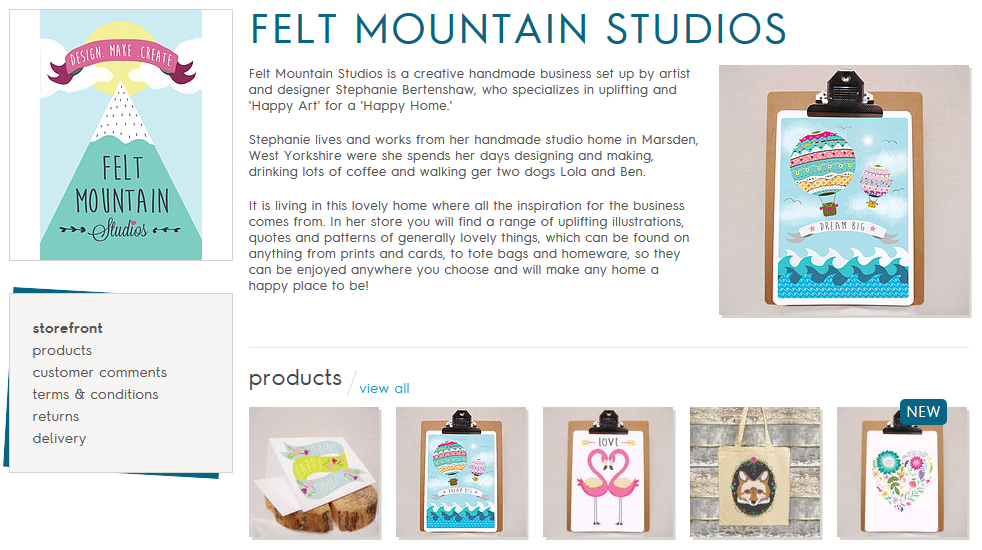 Ma Bicyclette: Self Employed | Setting Up Your Online Shop - Felt Mountain Studios