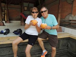young coconut, Bali, bike tour