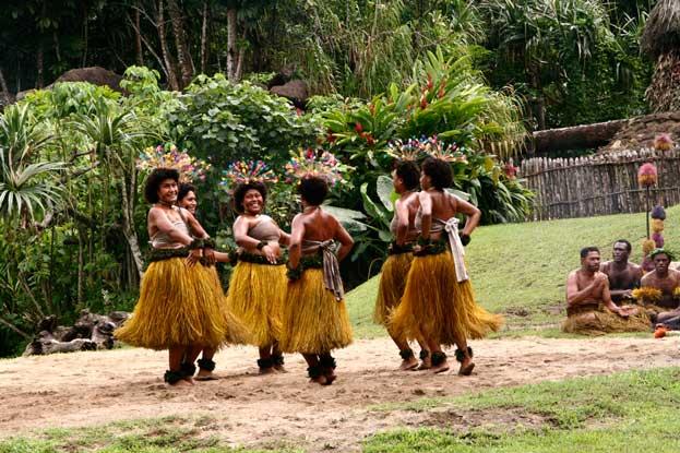 Fijian Levuka Dance