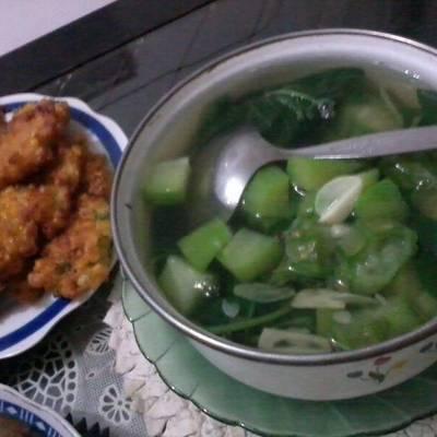 Resep dan Cara membuat sayur loncom