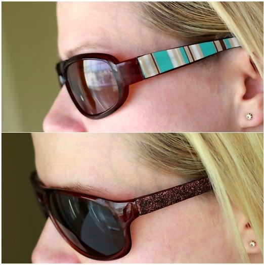 decorating your sunglasses