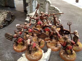 Hobbit SBG - Morannon orcs Charge ruins