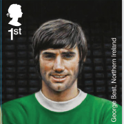 George Best stamp.