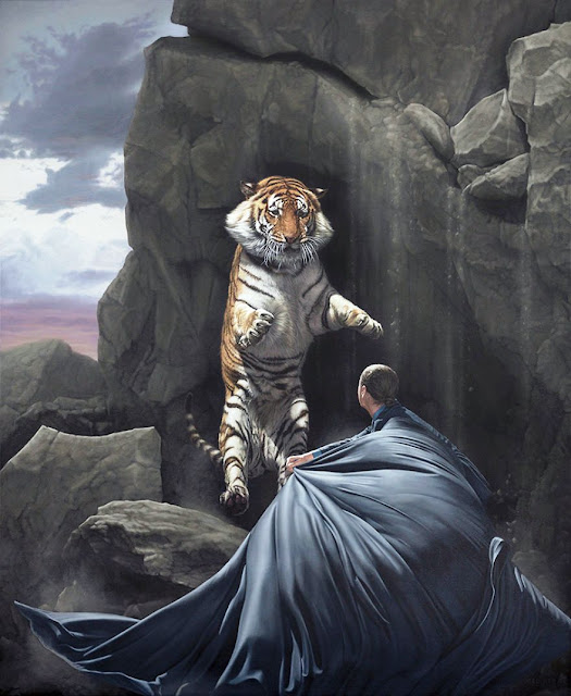 Joel Rea surreal oil painting