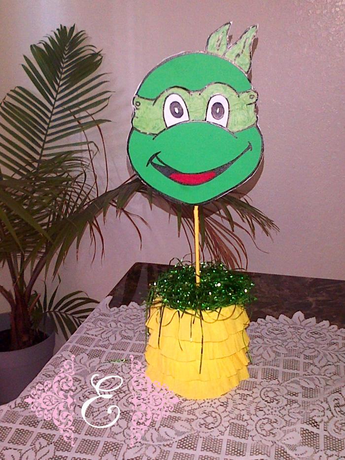 """Esther Event Desing: Cumpleaños de Israel &Xavier """"Hulk y Tortuga"""