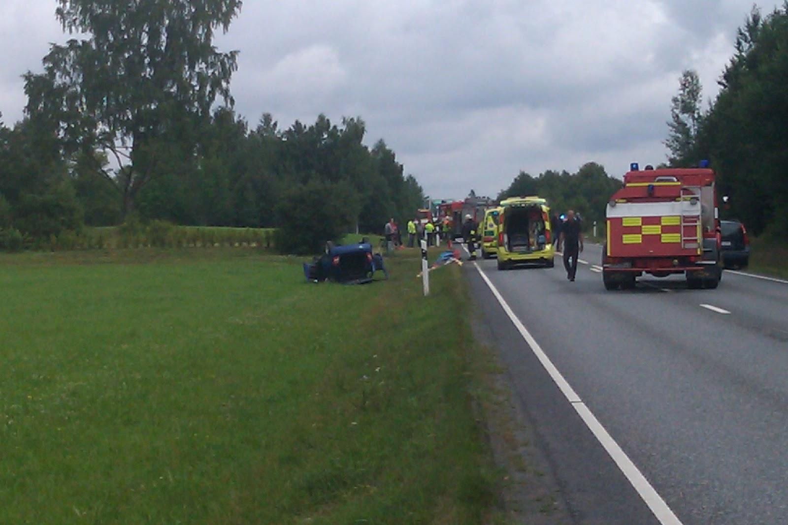 GGVV News Trafikolycka Smålandsstenar
