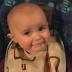 Cảm động video bé 10 tháng tuổi nghe mẹ hát