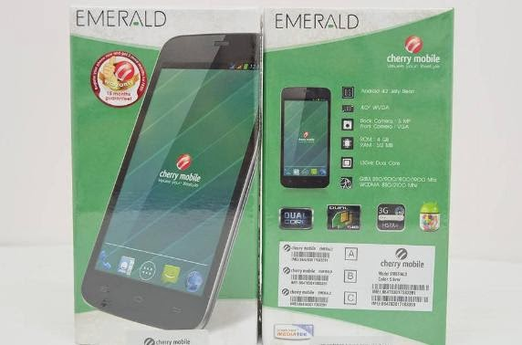 Cherry Mobile Emerald, 4-inch Dual Core Now Available For Php2,899