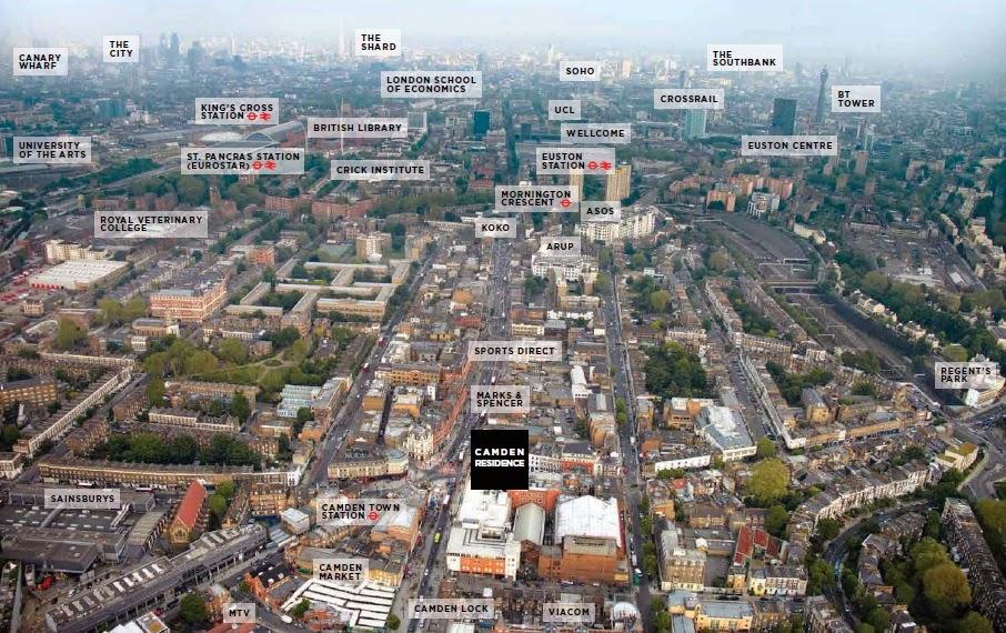 倫敦康登鎮建案位置