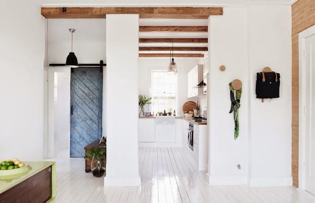 Sencillez y madera en una casa Australiana