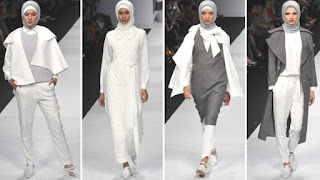 Warna Hijab Monokrom Trend 2016 Terbaru Baju Muslimah