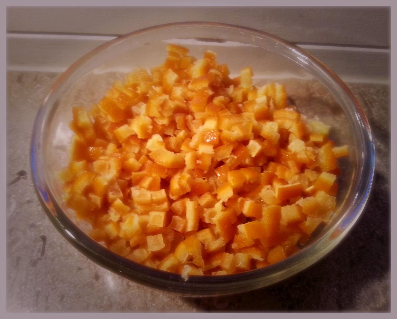 syltede appelsinskaller