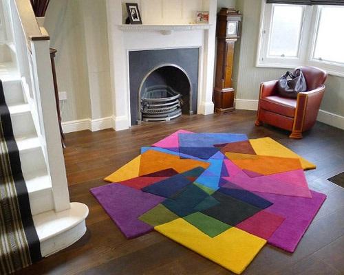 Pon linda tu casa alfombra de colores - Casa de alfombras ...