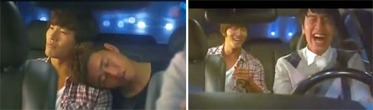 Kim Jong Kook 김종국 hires Cha  Dae Keun as his designated driver.