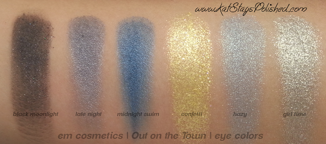 em michelle phan - The Life Palette- Party Life - Out on the Town - eye