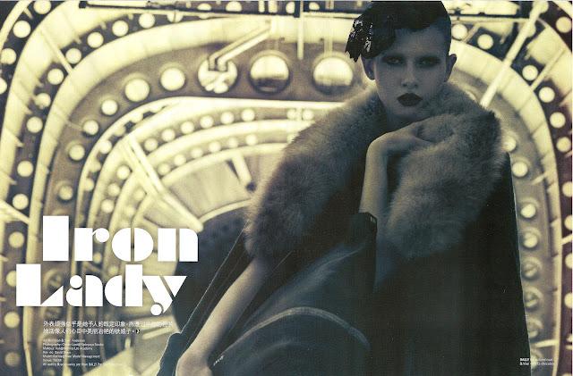 Ksenia Shirokova for Jessica Magazine, Malaysia