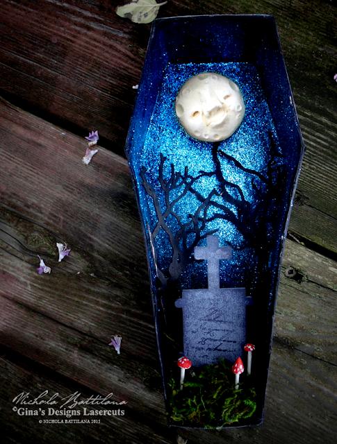 GinasDesigns.net & CreativePaperclay Coffin Shrine - Nichola Battilana
