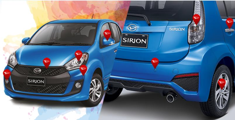 Fitur New Sirion 2015