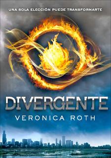 """Portada del libro """"Divergente"""""""