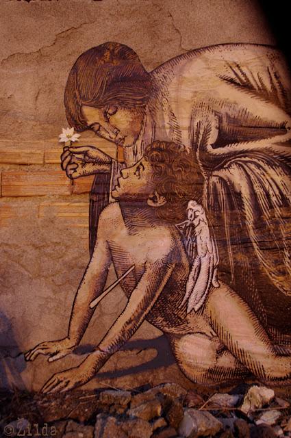 Zilda, street art, Naples, Fragiles Fabulae