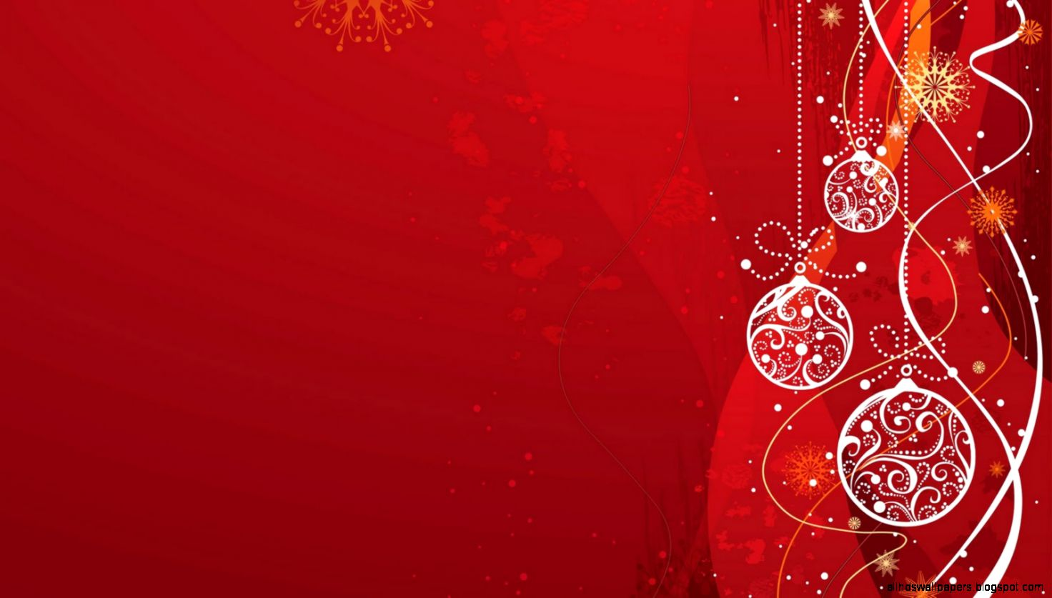 Red Christmas Background  Full HD Pictures